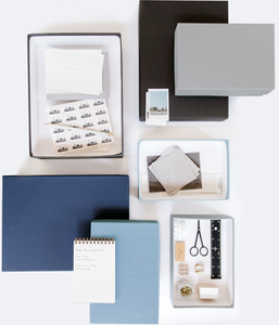 DOCUMENT BOXES IN GREY