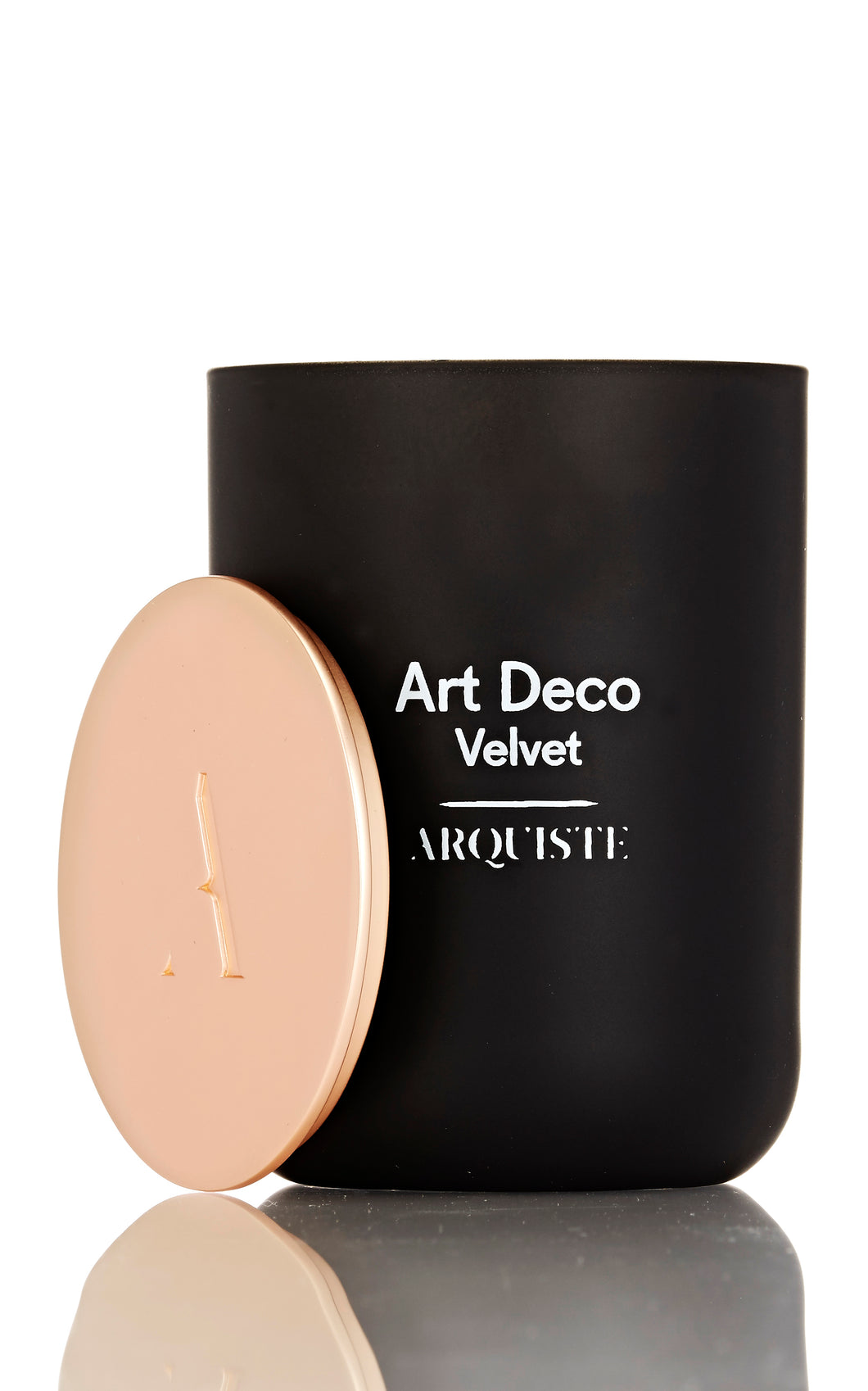 ART DECO VELVET CANDLE