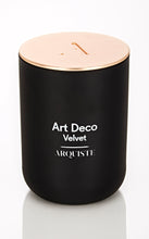 Load image into Gallery viewer, ART DECO VELVET CANDLE