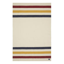 Load image into Gallery viewer, REVIVAL STRIPE WOOL BLANKET QUEEN