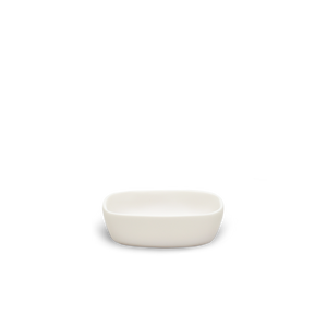 SOAP DISH IN WHITE