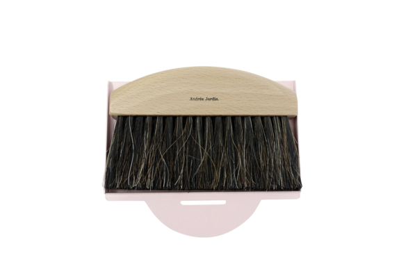 MINI HAND BRUSH AND PINK DUSTPAN