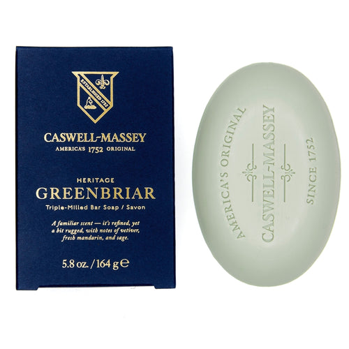 HERITAGE GREENBRIAR BAR SOAP