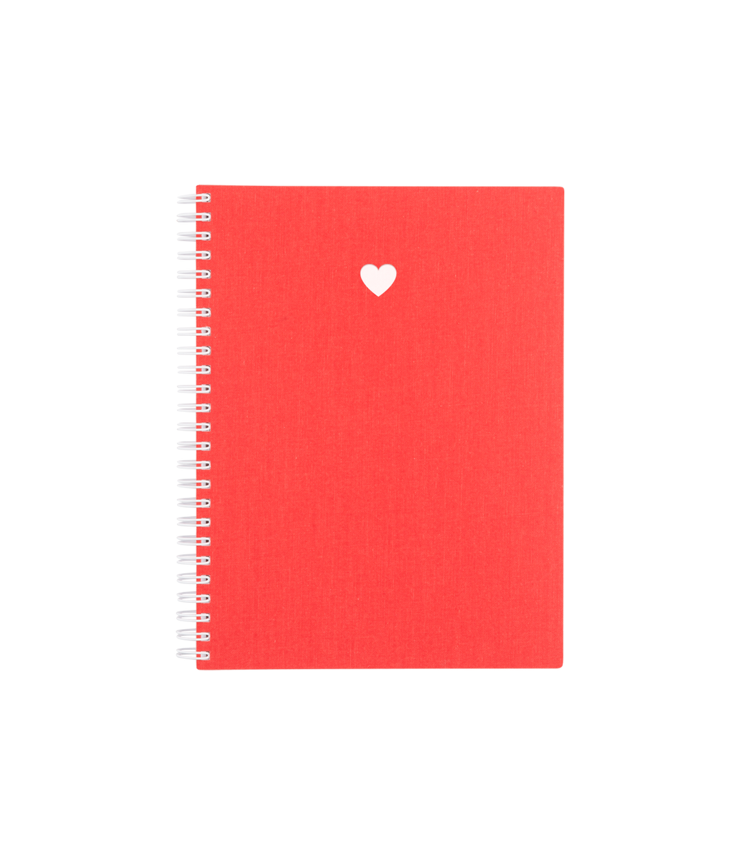 HEART WORKBOOK IN STRAWBERRY