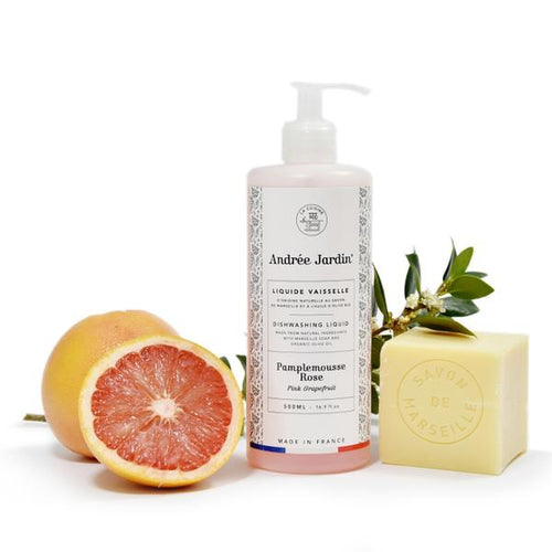 DISHWASHING SOAP WITH GRAPEFRUIT AND ROSE