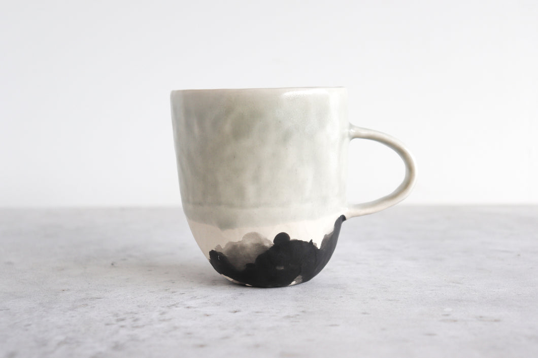 SPLATTER MUG IN SEAFOAM