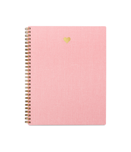 HEART NOTEBOOK IN BLOSSOM