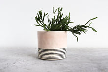 Load image into Gallery viewer, ROUND STRIPED PLANTER SUMMER SWEET