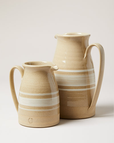 FARMHOUSE YELLOWWARE PITCHER