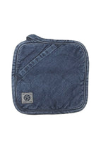 Load image into Gallery viewer, MEDIUM VINTAGE DENIM POT HOLDER