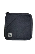 Load image into Gallery viewer, INDIGO DENIM POT HOLDER