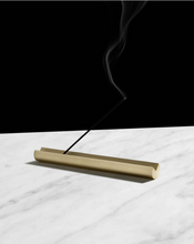 Load image into Gallery viewer, SECTOR BRASS INCENSE BURNER