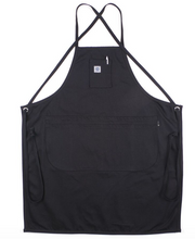 Load image into Gallery viewer, BLACK DENIM APRON