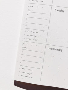 COLLAGE WEEKLY PLANNER