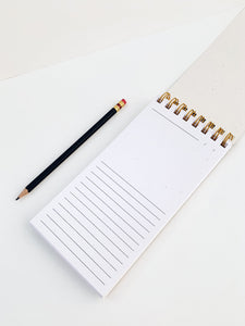 ABSTRACT SKINNY NOTEPAD
