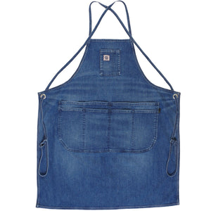 MEDIUM VINTAGE INDIGO DENIM APRON