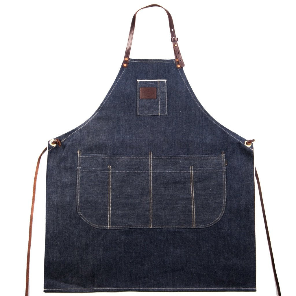 SELVEDGE DENIM & LEATHER APRON