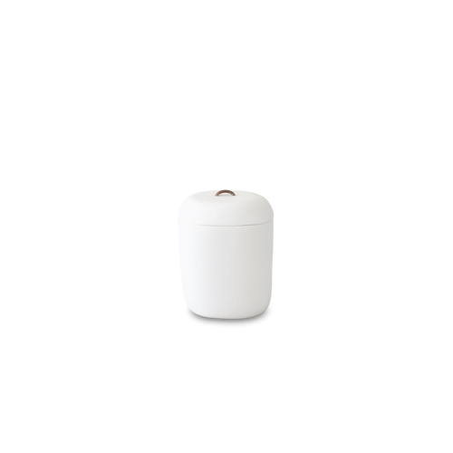 LIDDED ICE BUCKET, WHITE