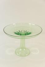 Load image into Gallery viewer, GLASS CAKE STAND, MINT GREEN
