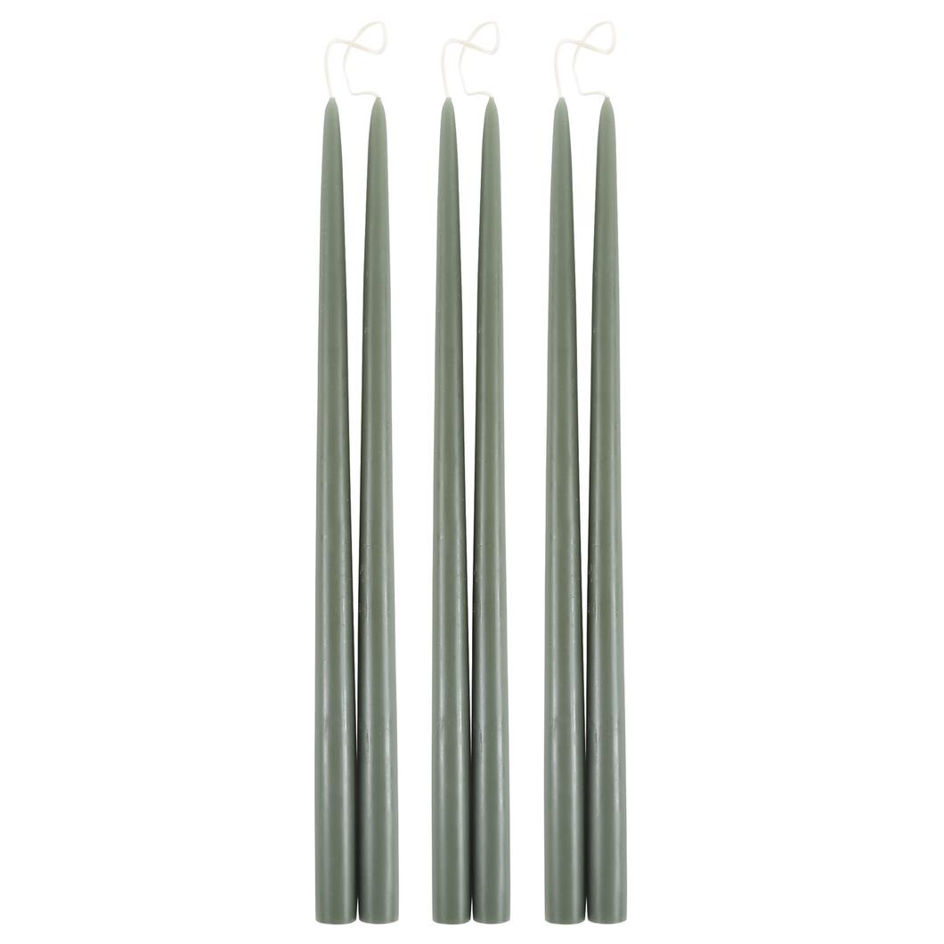 "MOSS 18"" TAPER CANDLE"