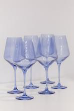 Load image into Gallery viewer, COBALT WINE GLASSES, SET OF 6