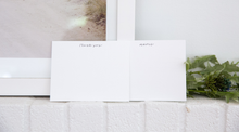 Load image into Gallery viewer, GOLD MERCI CARD SET