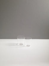 Load image into Gallery viewer, LUISA VINO GLASS, CLEAR, SET OF 2