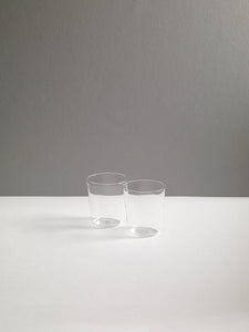 LUISA WATER GLASS, CLEAR, SET OF 2