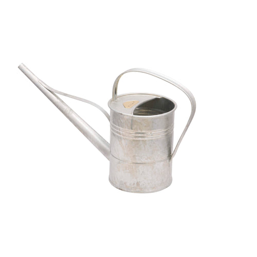 1.5 LITER WATERING CAN IN ZINC