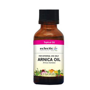 Arnica Oil 1 OZ by Eclectic Institute Inc (2590057758805)