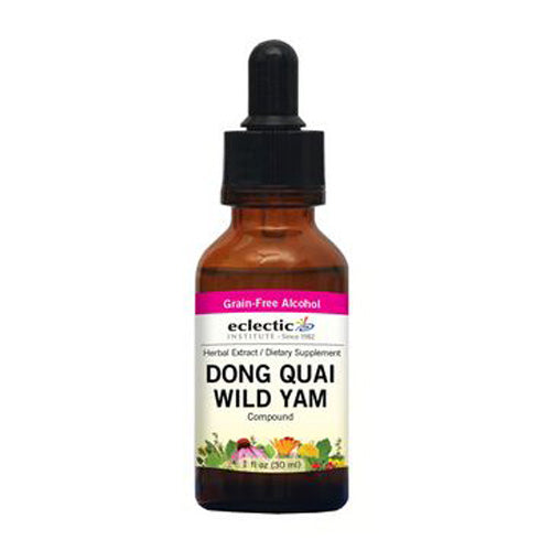 Dong Quai Wild Yam 1 Oz with Alcohol by Eclectic Institute Inc