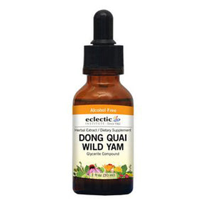 Dong Quai - Wild Yam 1 Oz Alcohol free by Eclectic Institute Inc (2583955865685)