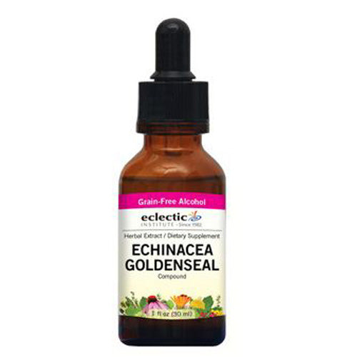 Echinacea - Goldenseal 1 Oz with Alcohol by Eclectic Institute Inc