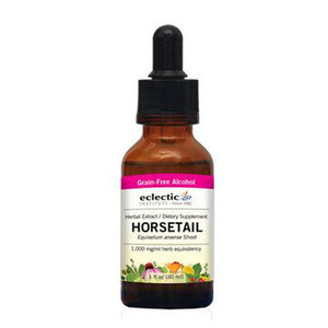 Horsetail 1 Oz with Alcohol by Eclectic Institute Inc (2583954620501)