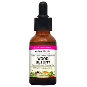 Wood Betony 1 Oz by Eclectic Institute Inc (2583950753877)