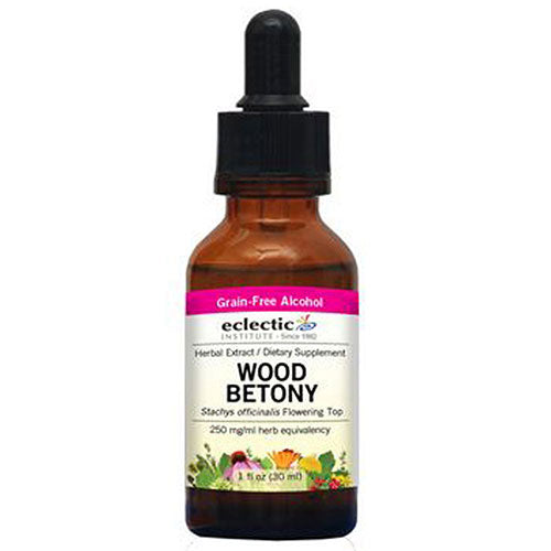 Wood Betony 1 Oz by Eclectic Institute Inc