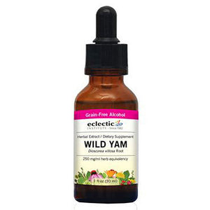 Wild Yam 1 Oz with Alcohol by Eclectic Institute Inc (2583950786645)