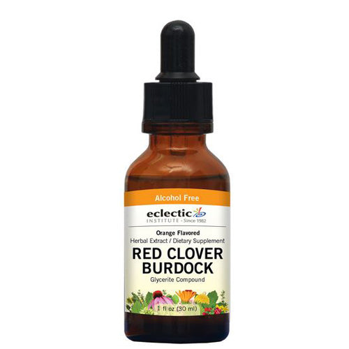 Red Clover-Burdock Orange 2 Oz Alcohol free by Eclectic Institute Inc