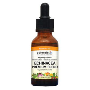Echinacea Premium Blend Raspberry 1 Oz Alcohol free by Eclectic Institute Inc (2583958224981)
