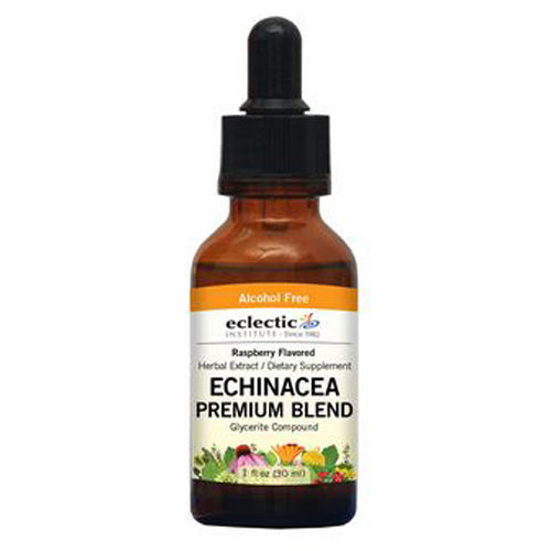 Echinacea Premium Blend Raspberry 1 Oz Alcohol free by Eclectic Institute Inc