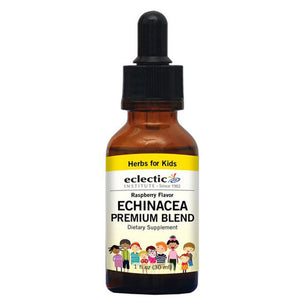 Echinacea Premium Blend Raspberry 1 OZ by Eclectic Institute Inc (2583958290517)