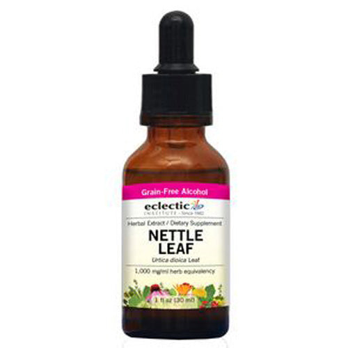Nettles Leaf 1 Oz with Alcohol by Eclectic Institute Inc
