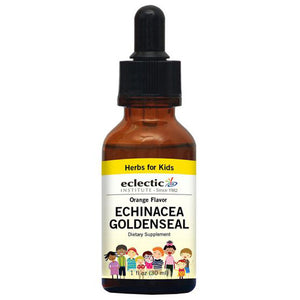 Kid's Echinacea Goldenseal Orange 1 Oz Alcohol Free by Eclectic Institute Inc (2583958421589)