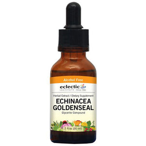 Echinacea - Goldenseal 1 Oz Alcohol free by Eclectic Institute Inc (2583958454357)
