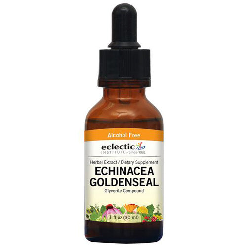 Echinacea - Goldenseal 1 Oz Alcohol free by Eclectic Institute Inc