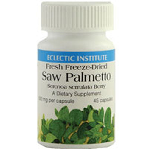 Saw Palmetto 60 Caps by Eclectic Institute Inc