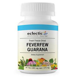 Feverfew Guarana 50 Caps by Eclectic Institute Inc