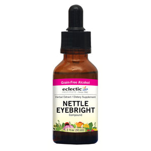Nettle Eyebright 2 Oz with Alcohol by Eclectic Institute Inc (2584042438741)
