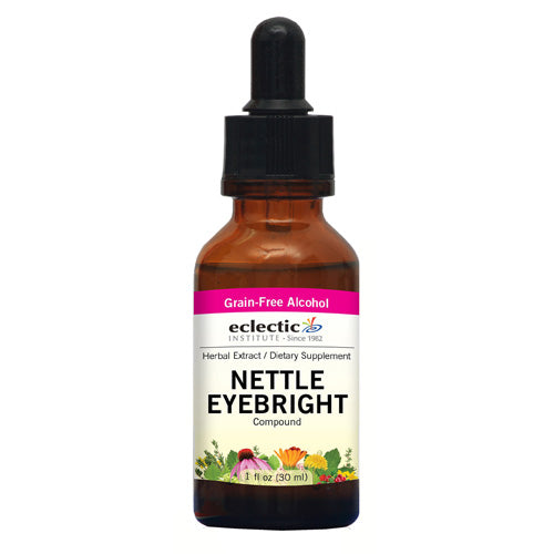 Nettle Eyebright 2 Oz with Alcohol by Eclectic Institute Inc