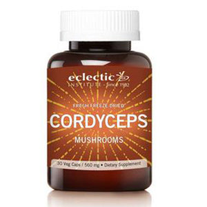 Cordyceps 60 Caps By Eclectic Institute Inc